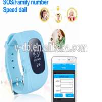 GPS Tracker Smart Kid Q50 Children Watch AndroidIOS