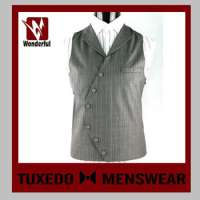 Black men suit vest Manufacturer