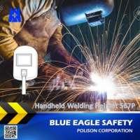 Blue Eagle Supplies 567P hand held welding helmet