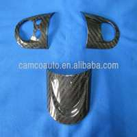 CARBON FIBER STEERING WHEEL DECORATION COVER