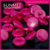 Fancy Ladies Shank Acrylic Plastic Button for Shirt