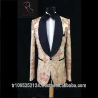 Wedding 2 Piece Embroidered Man Suit Manufacturer