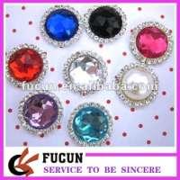 design acrylic diamond gems buttons