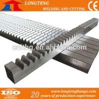 CNC High Precision Gear Rack Messer Cutting Torch