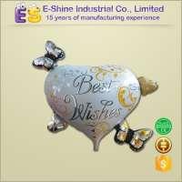 Wedding Party Balloon Butterfly Heart Foil Helium Balloon Manufacturer