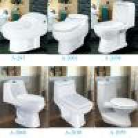 A type toilet wash down One Piece Toilets Siphonic One Piece Toilets Manufacturer