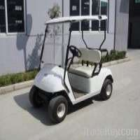 electric golf cart 2 seat in white Manufacturer