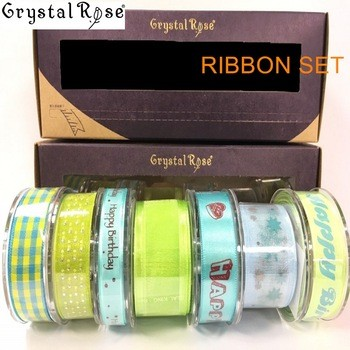 organza ribbon Christmas