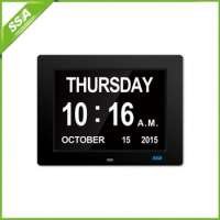 auto dimming calendar alarm desk clock  Manufacturer