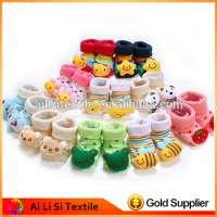 Cute Newborn Baby Socks Animal Cartoon Doll Infant Socks Model Antislip Boys Girls Socks Manufacturer