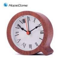 wooden fashion desk clock