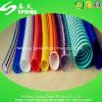 PVC sheel wire strengthenfibre reinforcedgardentransparent softhighpressurehose Manufacturer