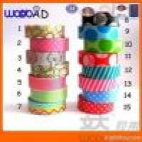 Wonder Tape and designs pattern printed decorative washi tape Manufacturer