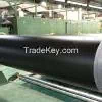 Black pvc conveyor belt matt surface Manufacturer