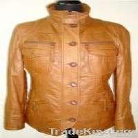 Newflower leather jacket men leather jacket women skirt trouser Manufacturer