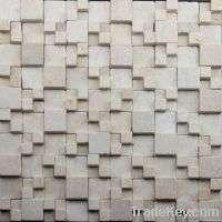 rugged surface Natural Stone Mosaic Tile Manufacturer