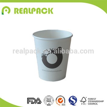 one time use paper cup cold and beverage