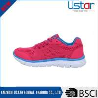 ladies colorful safety running shoes pvc sports shoes Manufacturer
