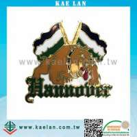 Customized metal badge