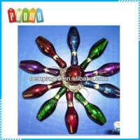 plastic Colorful bowling Pin keychain Manufacturer