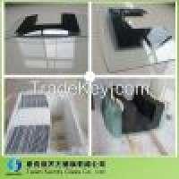 6mm tempered decorative glass panel range hood Manufacturer