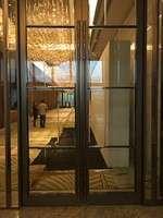 Floor spring  Stainless Steel Gate