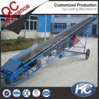Movable portable belt conveyor industrial conveyor system  Manufacturer