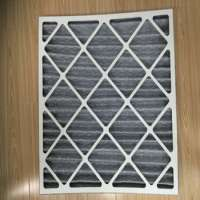 Panel Filter Construction hvac activated carbon air filters Manufacturer