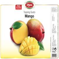 Topping Ice Cream Cake and Dessert Mango