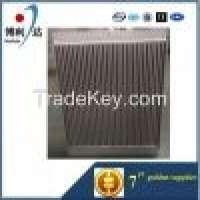customized air cooled aluminum plate bar air compressor oil cooler Manufacturer