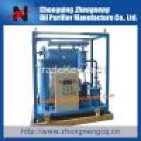 SingleStage Vacuum Old Transformer Oil Filter Machine Manufacturer
