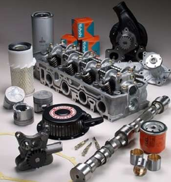 Genuine Kubota spare parts