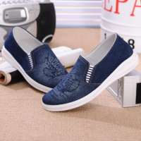 men casual loafers canvas shoes