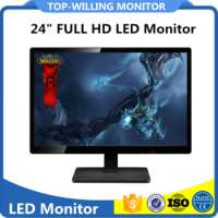 Desktop FULL HD 236 inch 24 inch LED Computer Monitor Office