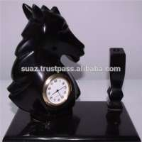 marble Onyx Table watch marble onyx Desk clocks marble handicrafts