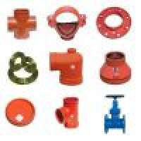 Ductile Casting iron pipe coupling and fittings Manufacturer