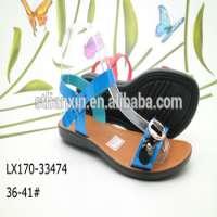 Pu sandals women footwear Manufacturer