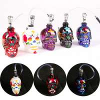 YIWU Color of skull glass water smoking pipes METTLE-SK5000 Manufacturer