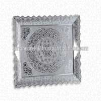 Tray square shape coffee and tea service Manufacturer
