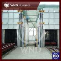 Aluminum Coil Annealing Furnace Trolly Type Industrial Furnace Electric Furnace