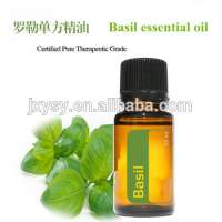Certified Pure Therapeutic grade Basil Essential Oil with factory price