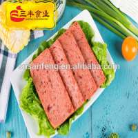 198g 340g 397g 1588g canned chicken luncheon meat of halal Manufacturer