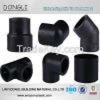 Socket plastic pipe fittings Hdpe fittings  Manufacturer
