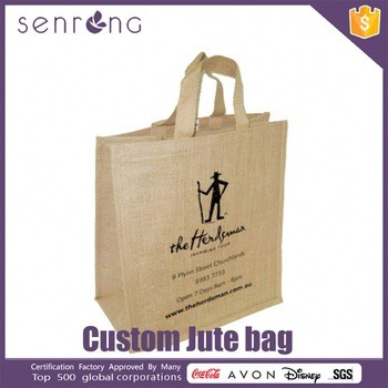 566d8221b2 Bamboo Handle Fancy Jute Shopping Bags From Guangzhou Senrong Handbag Smart  MFG Co.
