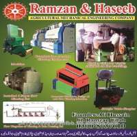 cotton ginning and bale pressing machinery