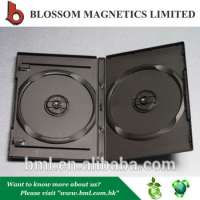 Empty 14mm Plastic Double DVD Cover Manufacturer