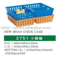 STP Plastic Transport Crate Chicken Poultry Cage Egg Basket
