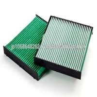 Antipollen automotive air filters in car air conditioner