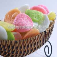 Multi colored prawn crackers Manufacturer