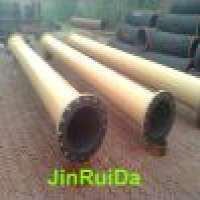 Wear Resistant Rubber Lined Steel Pipe Reducer Manufacturer